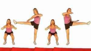 Ejercicios para eliminar la celulitis de las piernas y gluteos
